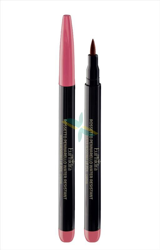 EuPhidra Linea Make up Base Rossetto Pennarello Waterproof Colore Cremisi