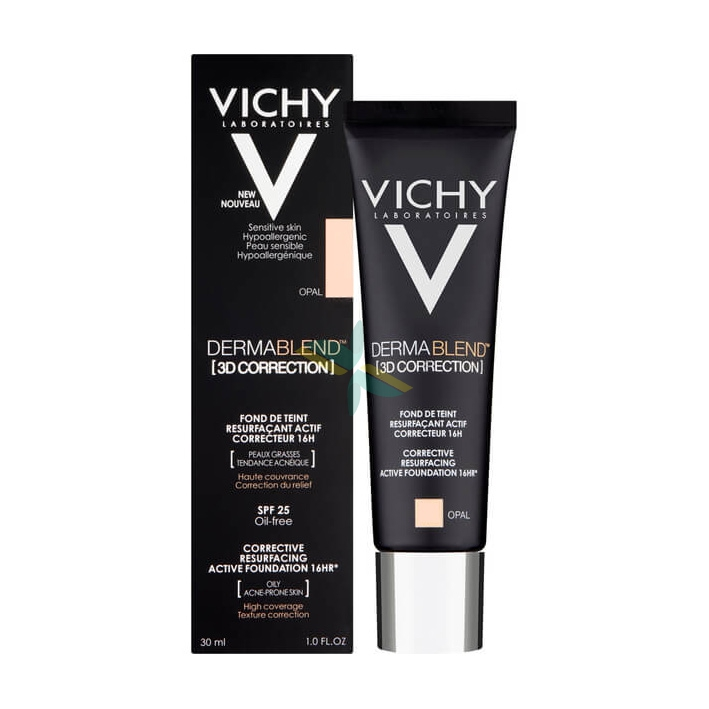Vichy Make-up Linea Dermablend 3D Correction Fondotinta Elevata Coprenza 30