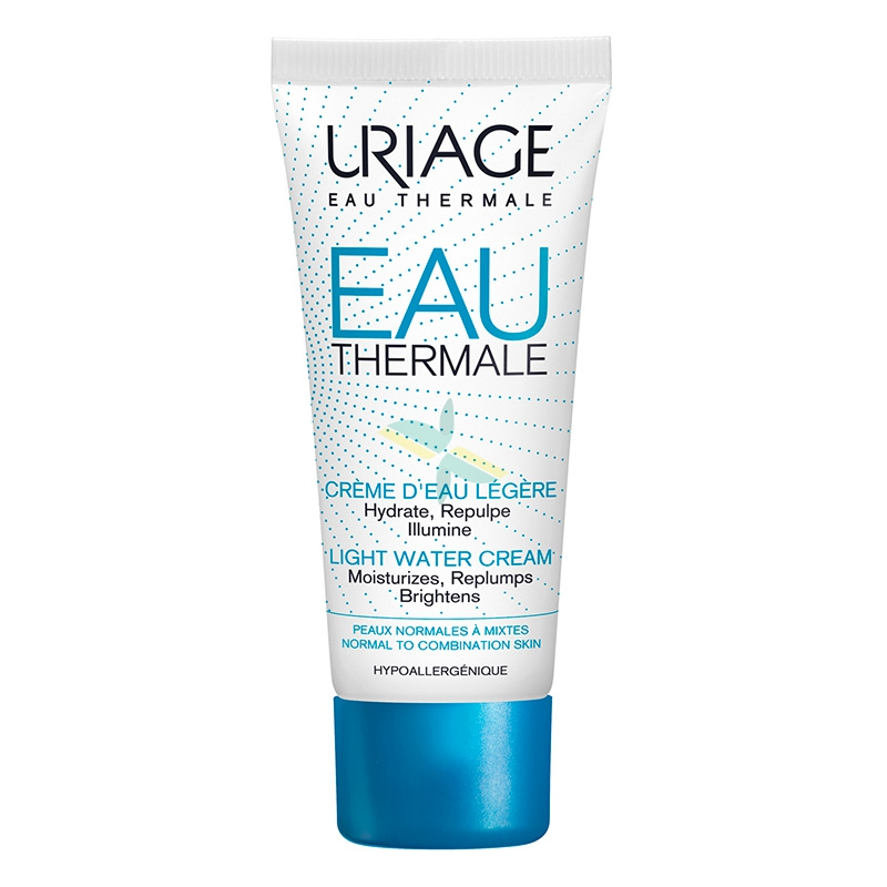 Uriage Linea Eau Thermale Crema Leggera all'Acqua Nutriente Rigenerante 40 ml