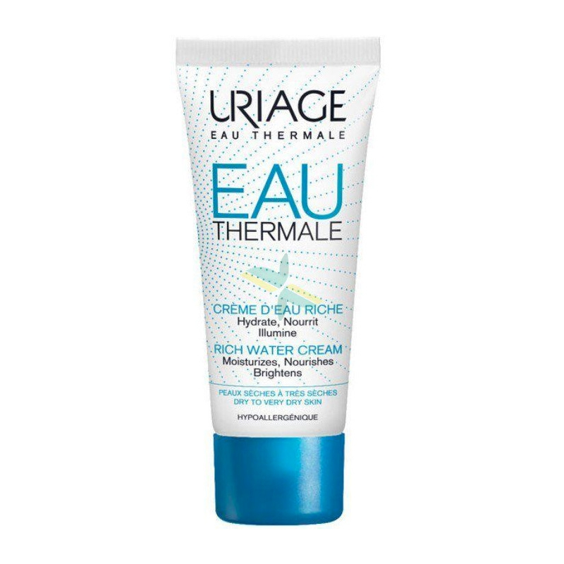Uriage Linea Eau Thermale Crema Ricca all'Acqua Nutriente Rigenerante 40 ml